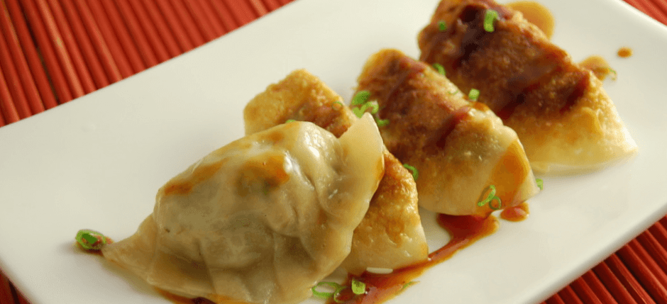Pork & Vegetable Potstickers Recipe