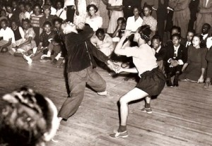 Capturing the essence of Swing dancing