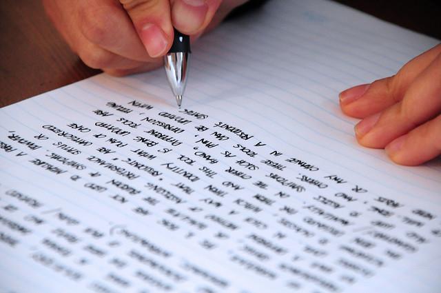 Zapisivanje rukom aktivira mozak koji lakše pamti informacije (Foto: jeffrey james pacres/Flickr.com)