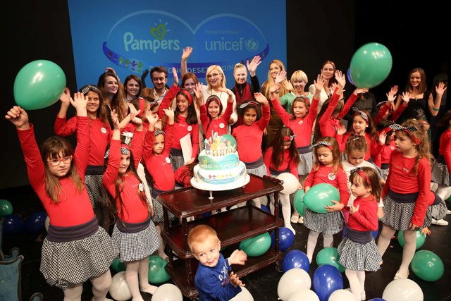 Pampers UNICEF, 10 godina
