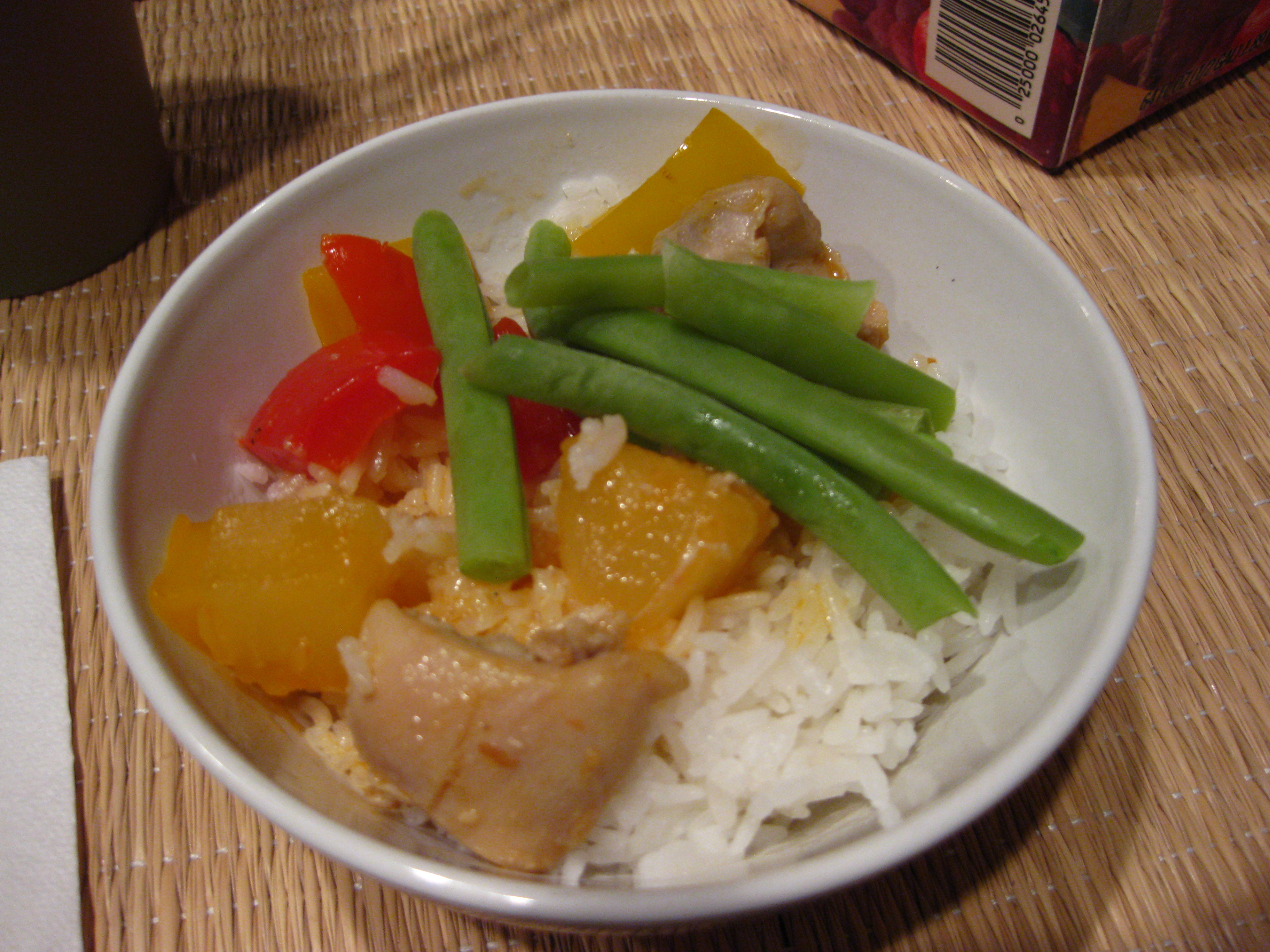 More sweet and sour chicken
