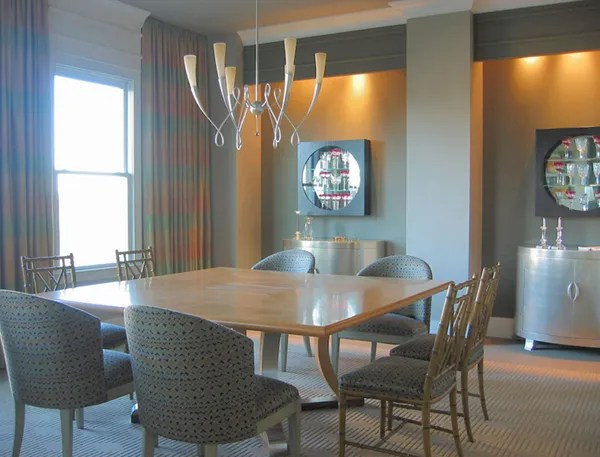 Miles Design, inc dining room furniture design