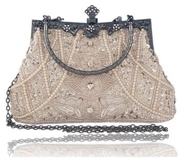 Vintage beaded sequended handbag