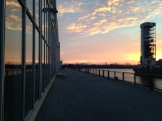 Sunrise at the Old Port