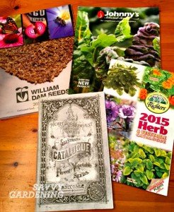 Seed catalogues 2015