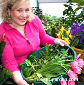 Brenda's passion for gardening is infectious!
