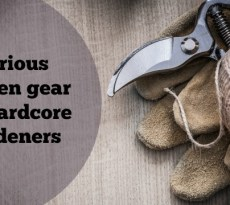 Gear and tools for gardeners