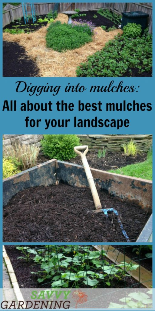 digging mulches types of