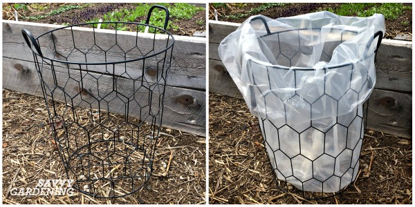 Learn how to upcycle an item like a laundry basket into a productive vegetable garden.