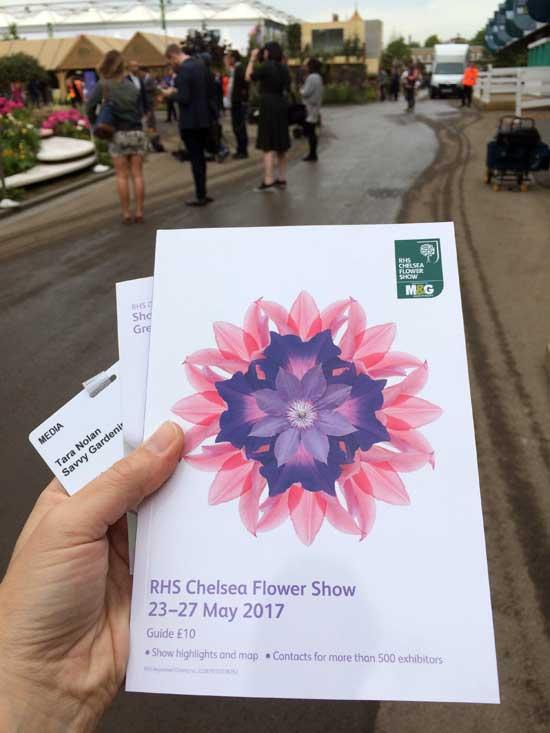 chelsea flower show program