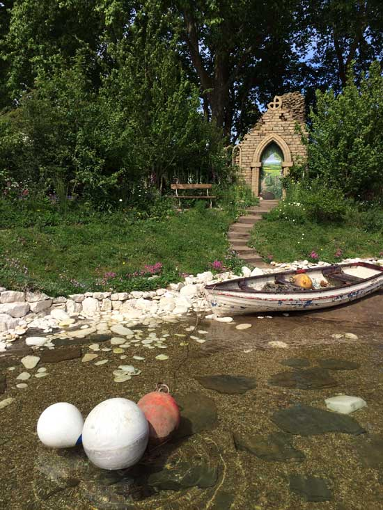 The Welcome to Yorkshire Garden at the Chelsea Flower Show