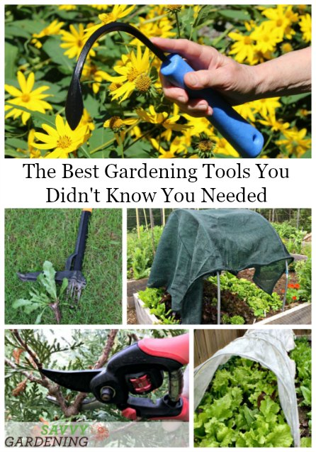 The best gardening tools you didn't know you needed make all the difference in a garden.