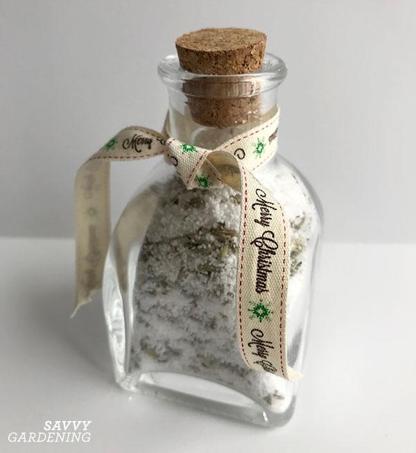 dried lavender bath salts