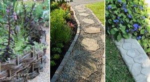 Landscape borders: Eye-catching edging ideas to separate your garden areas