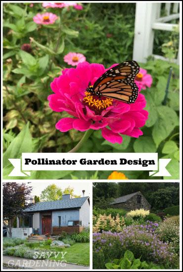 pollinator garden design tips