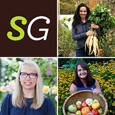 Savvy Gardening experts Niki Jabbour, Jessica Walliser, and Tara Nolan
