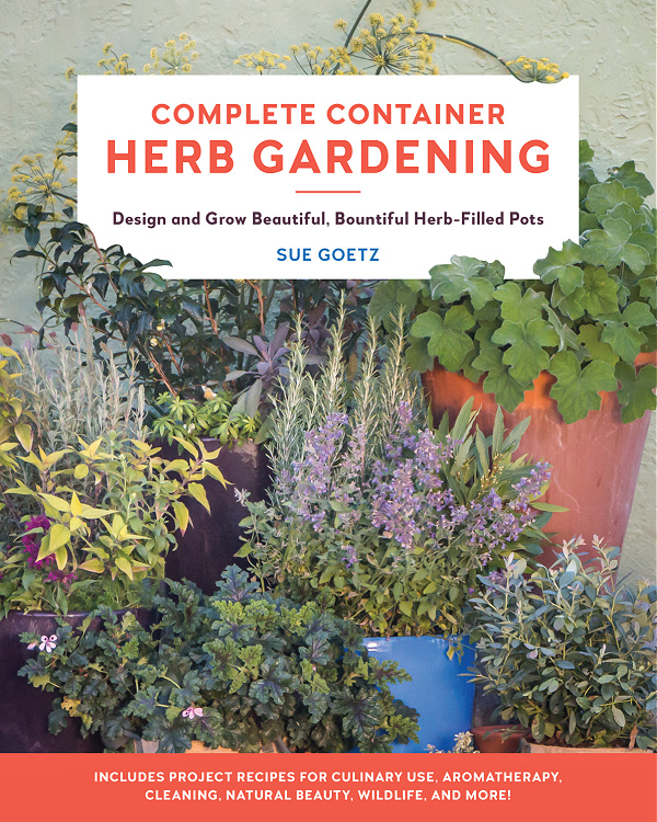 Complete Container Herb Gardening book cover