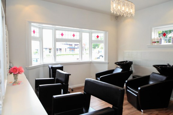 Come and visit our light and bright salon