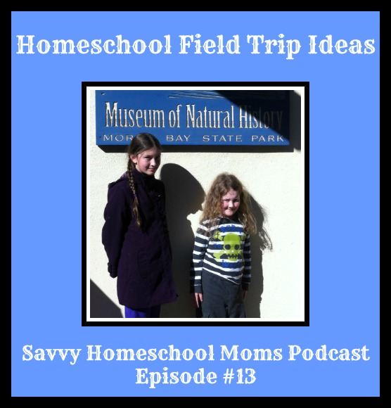 Homeschool Field Trip Ideas, Savvy Homeschool Moms Podcast