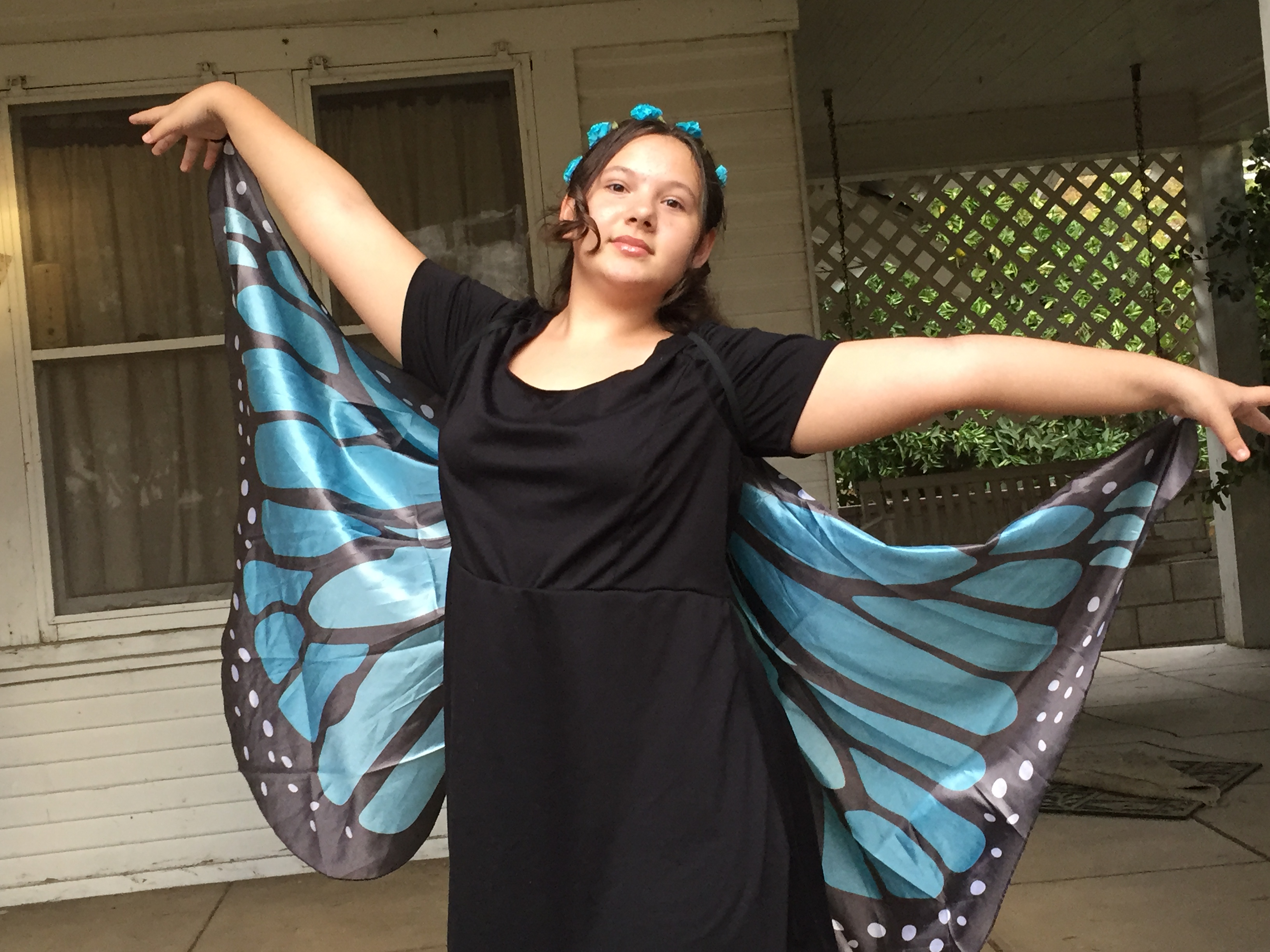 Danielle is a butterfly