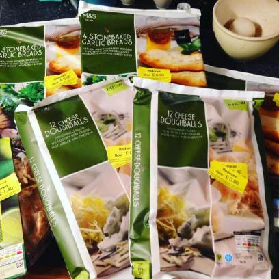 M&S food Reduced Haul