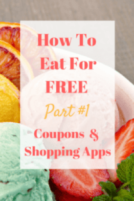 Welcome to the first of a new series here at Savvy In Somerset entitled How To Eat For Free - this week focusing on shopping Apps and Coupons