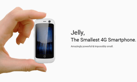 Introducing Jelly – The World's Smallest 4G Smartphone Running Android 7.0
