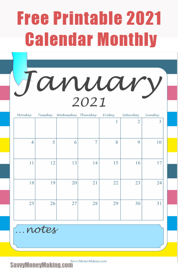 Browse our selection that includes wall calendars, desktop calendars and even wall stickers. 2021 Monthly Calendar Printable - Free Monthly Calendar Pages