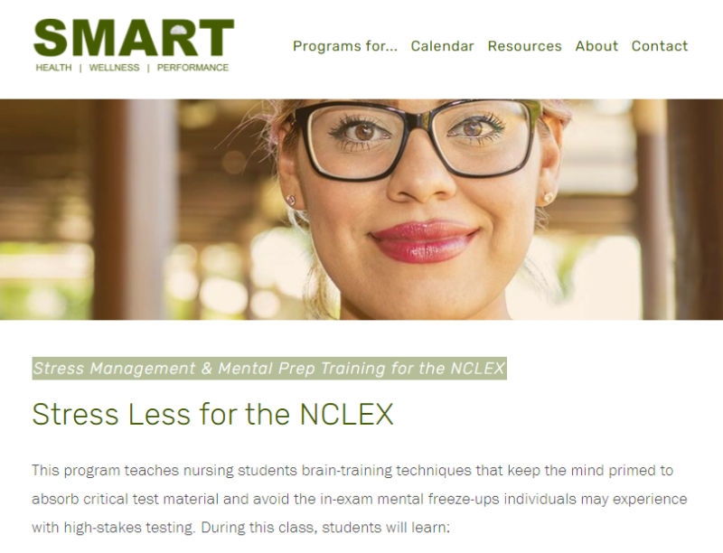 Stress Less for the NCLEX - Follow Your Passion - And Establish Mindset