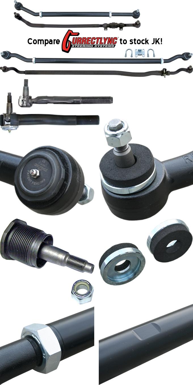 Jeep Jk Tie Rod Upgrade : upgrade, CURRIE, JK-9703, CURRECTLYNC®, SYSTEM, Savvy