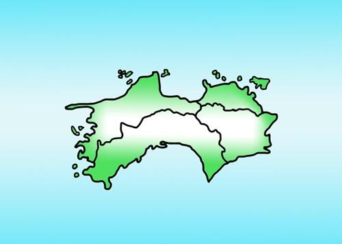 四国の県名と位置はちゃんとわかりますか?覚え方や県庁所在地も知っておこう!