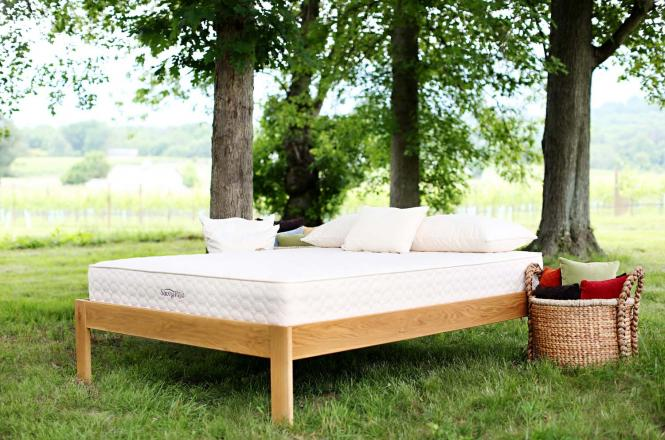 Natural Spring Mattress With Recycling Steel Innerpsring