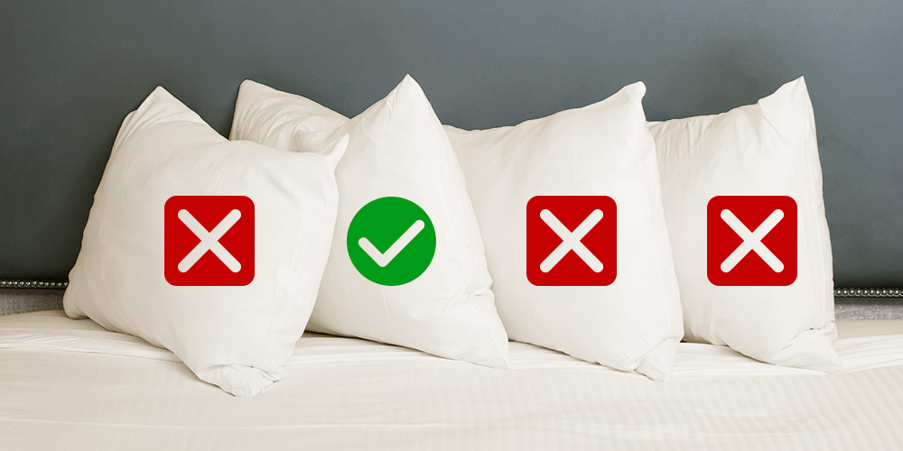 choosing your pillow neck pain back