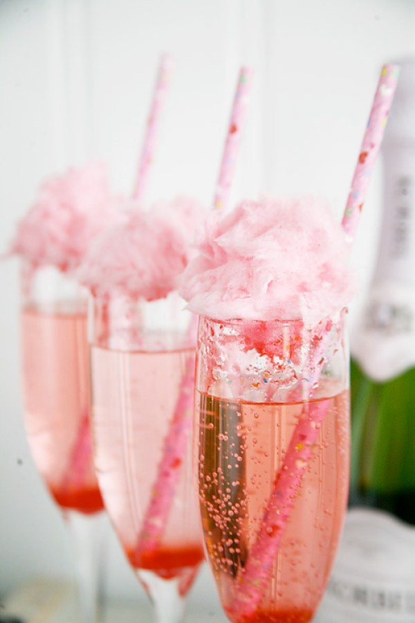 Cotton Candy Champagne recipe
