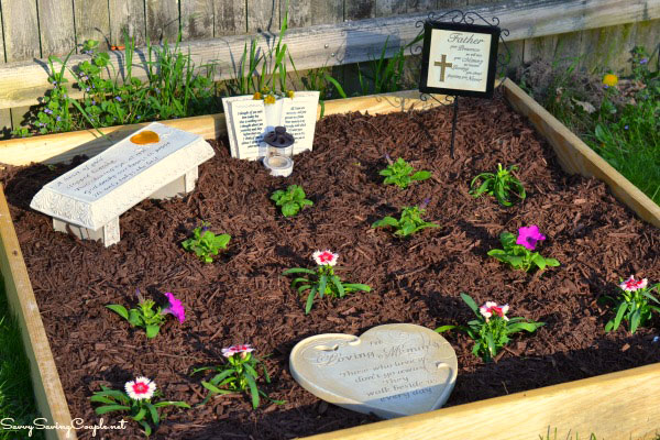 How To Make Your Own Memorial Garden On A Budget ⋆ Savvy Saving