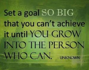 Big Goals