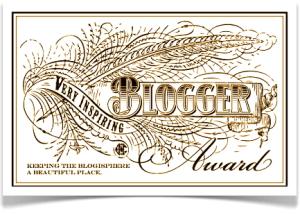VIB BloggerAward banner