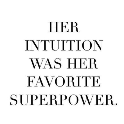 Is intuition your superpower?