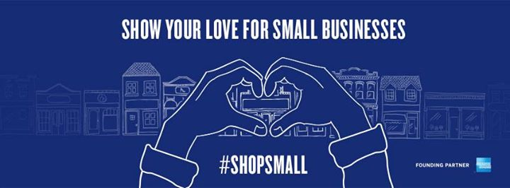 small business saturday heart banner