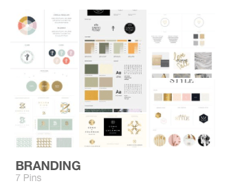 Savvy Shopkeeper Branding Pinterest Board
