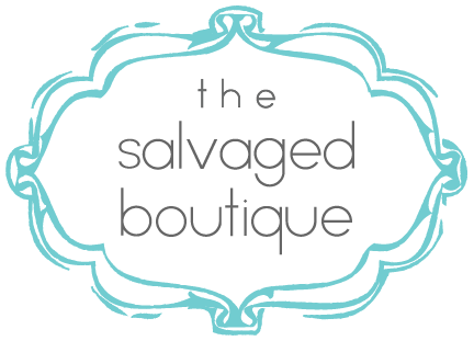 the salvaged boutique logo