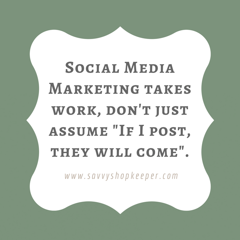 Social Media Marketing takes work