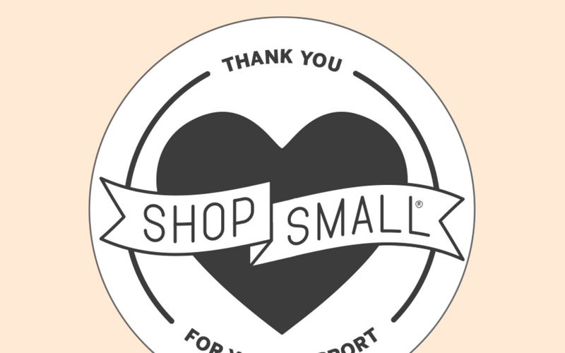 stand out on small business saturday