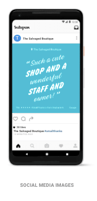 Google My Business Reviews Social Media Images