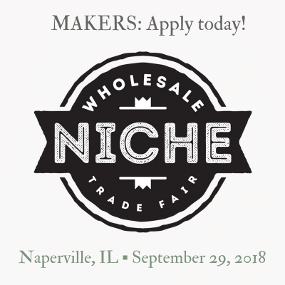 Niche Fair for Makers - Naperville September 29, 2018