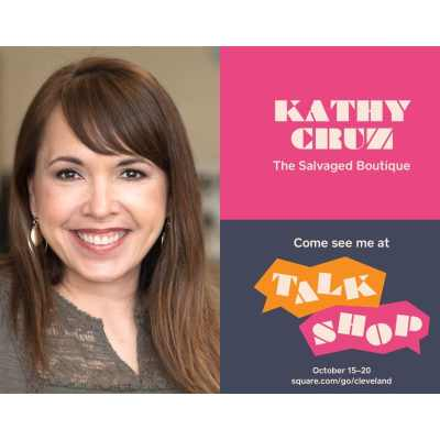 Talk Shop Cleveland - Kathy Cruz of The Salvaged Boutique