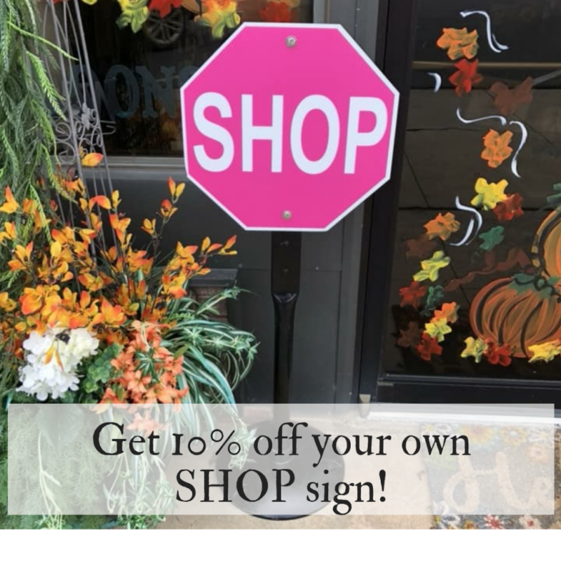 Shop Sign Discount