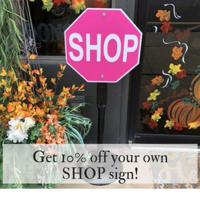 Shop Sign Discount