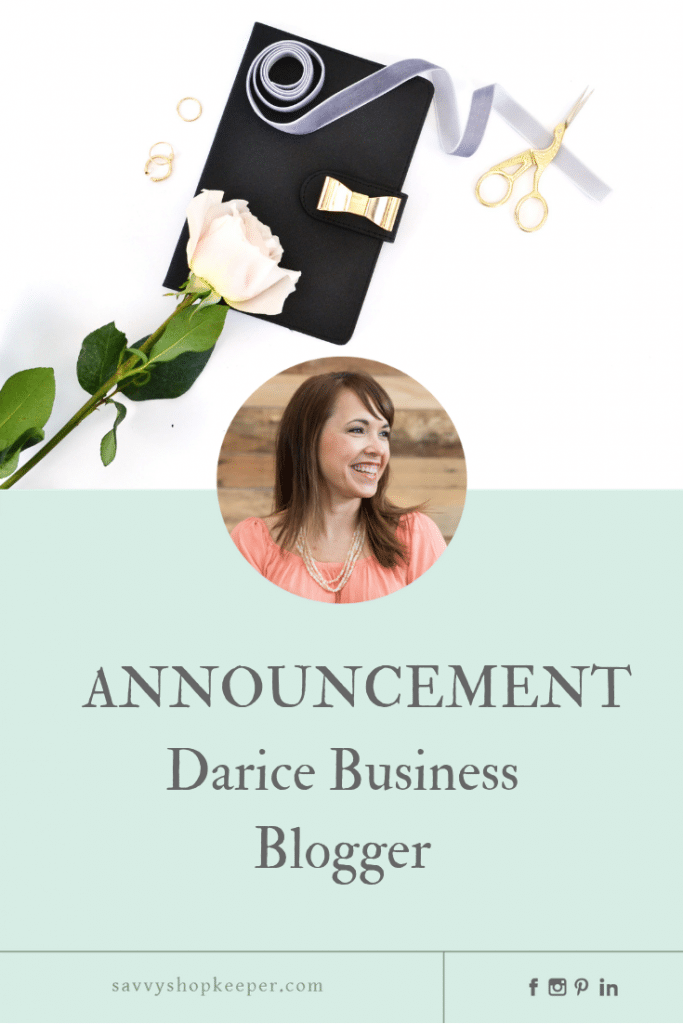 Darice Business Blogger