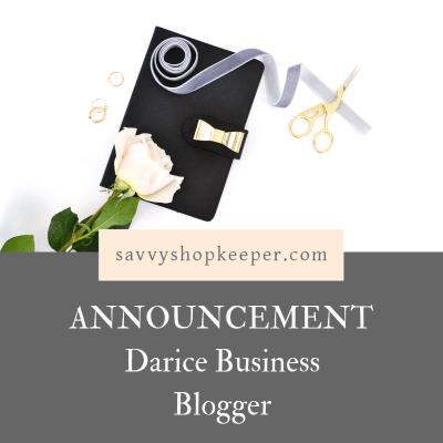 darice business blogger